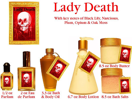 Lady Death 2 oz Eau de Parfum Spray