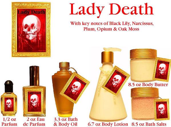 Lady Death Perfume by Opus Oils