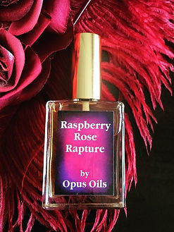 Raspberry Rose Rapture Perfume by Opus Oils