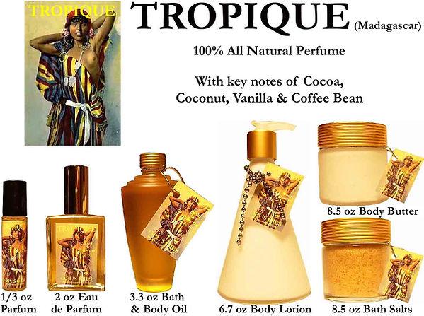 Tropique Perfume by Opus Oils
