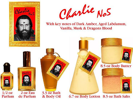 Charlie No. 5 - 3.3 oz Bath and Body Oil