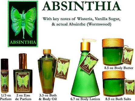 Absinthia 1.7 oz Fancy Atomizer (Alcohol Only)