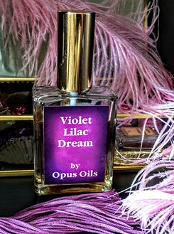 Violet Lilac Dream Perfume by Opus Oils