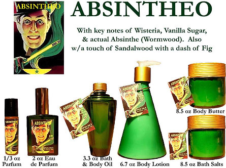 Absintheo 3.3 oz Bath and Body Oil