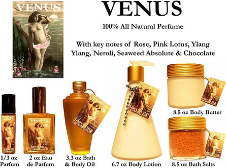 Venus 3.3 oz Bath and Body Oil
