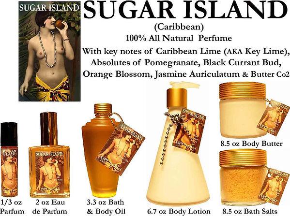 Sugar Island Perfume by Opus Oils