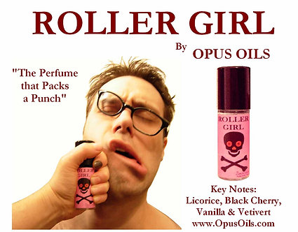 Roller Girl 3.3 oz Bath and Body Oil
