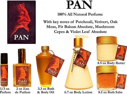 Pan 1/2 oz Parfum Roll-on