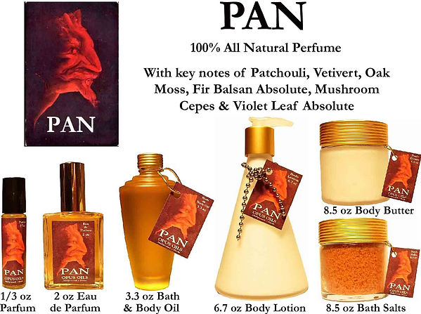 Pan Perfume by Opus Oils