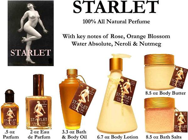 Starlet Perfume by Opus Oils