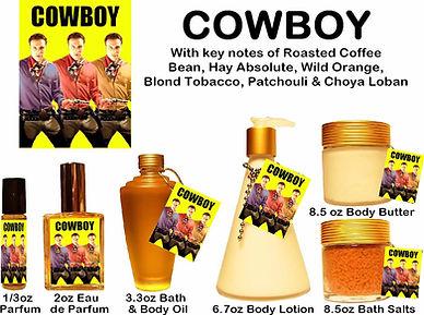 Cowboy Perfume by Opus Oils