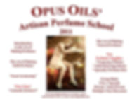 Opus Oils Artisan Perfume School