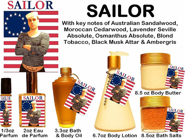 Sailor Perfume by Opus Oils