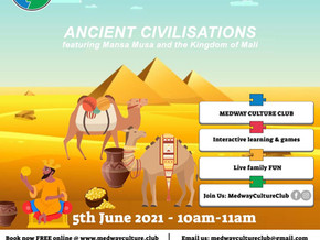 """Ancient Civilisations: Featuring Mansa Musa of Mali - The """"Gold King"""" Booking now open!"""