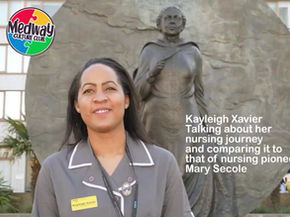 Nurse talks to Medway Culture Club ahead of International Nurses Day: Seacole Online Session 8th May