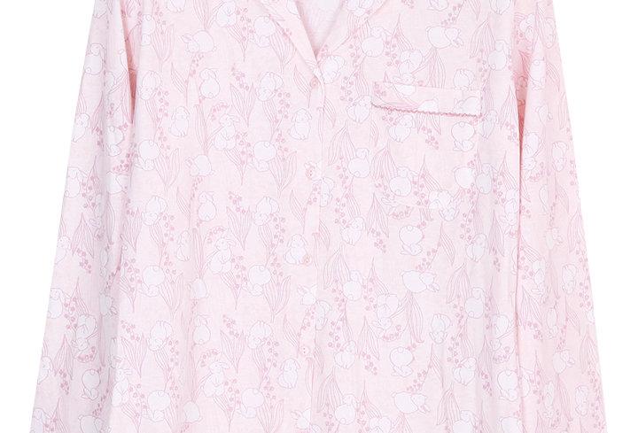 Josilins Bunny meadow _ Long Shirt With Long Pants