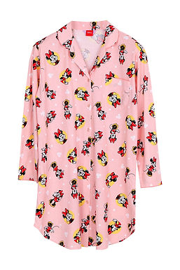 Minnie Mouse Dot2 _Long Sleeve Dress