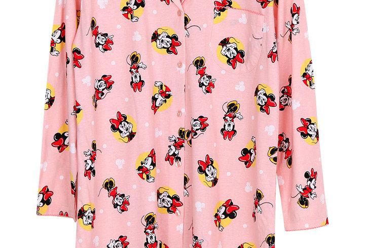 Minnie Mouse Dot2 _Long Sleeve Dress