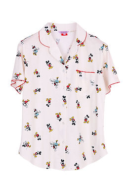 Mickey Mouse special Collection  Mickey-actart _ Short Shirt With Long Pants
