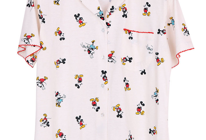 Mickey Mouse special Collection  Mickey-actart _ Short Shirt With Short Pants