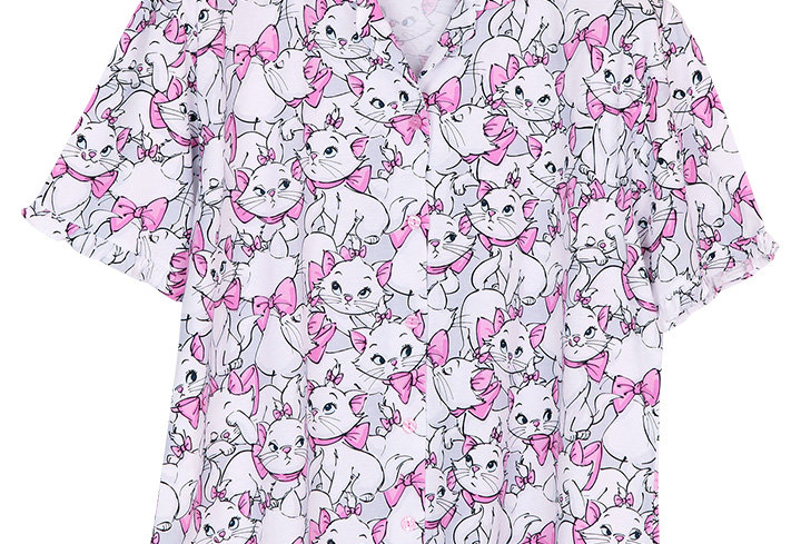 Disney Precious and puuurfect Marie _ Short Shirt With Long Pants (XL)