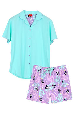 Mickey Go Thailand : Sawasdee Songkran _ Short Shirt With Short Pants