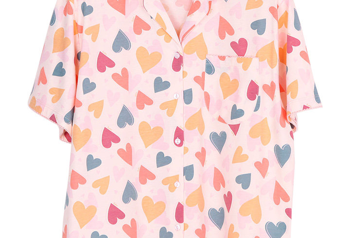 Josilins Valentine Love Collection _ Short Shirt With Long Pants (XL)