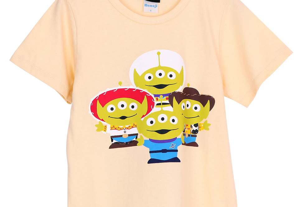 Toy Story Alien Remix_T-shirt With Long Pants
