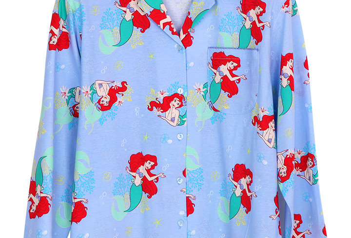 Ariel Starfish_Long Shirt With Long Pants