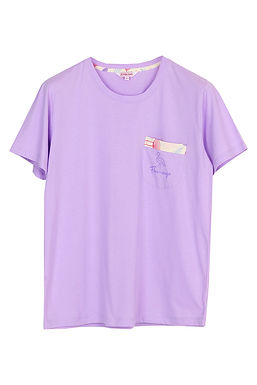 Hello Summer Hello Flamingo Collection _ T-Shirt With Short Pants
