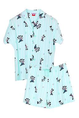 Mickey Go Thailand:Summer Flower _ Short Shirt With Short Pants