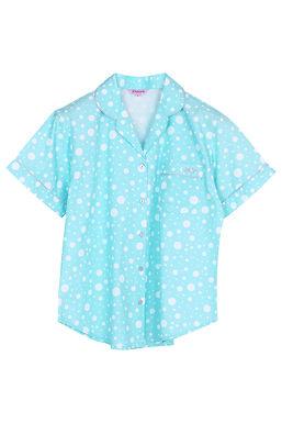 Josilins Nighty Dot _ Short Shirt With Long Pants