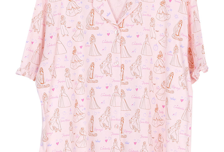 Disney Princess_Ultimate Princess_Short Shirt With Long Pants (XL)