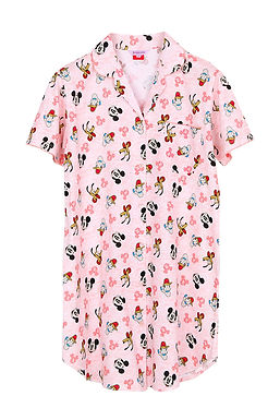 Mickey Mouse Topdye_Short Sleeve Dress