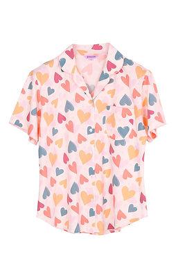 Josilins Valentine Love Collection _ Short T-Shirt With Capri Pants