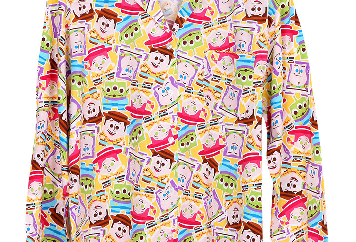 Toy Story Sticker  _ Long Shirt With Long Pants