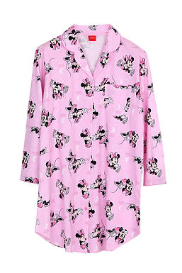 Minnie Mouse Hello Moon _Long Sleeve Dress