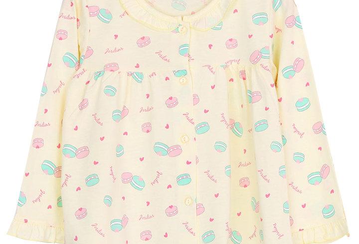Momoji Macaron Lover_ Long Shirt With Long Pants