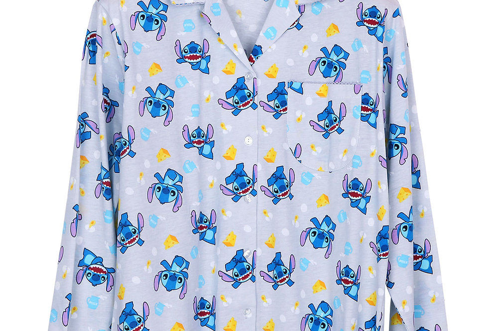 Lilo & Stitch Genki Collection_Long Shirt with Long Pant