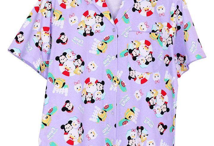 Tsum Tsum Mickey&Friend  _ Short Shirt With Short Pants