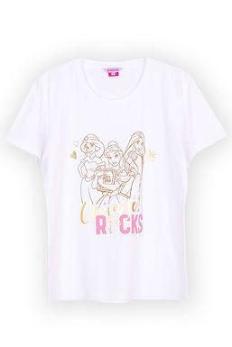 Disney Princess_Ultimate Princess_T Shirt With Short Pants