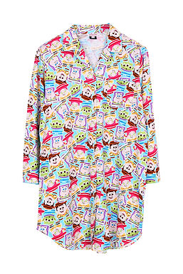 Toy Story Sticker _ Long Sleeve Dress