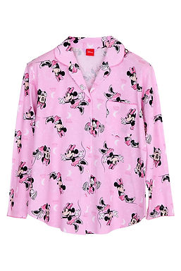 Minnie Mouse Hello Moon _Long Shirt With Long Pants