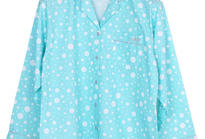 Josilins Nighty Dot _ Long Shirt With Long Pants