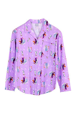 Frozen Elsa Anna Olaf _ Long Shirt With Long Pants