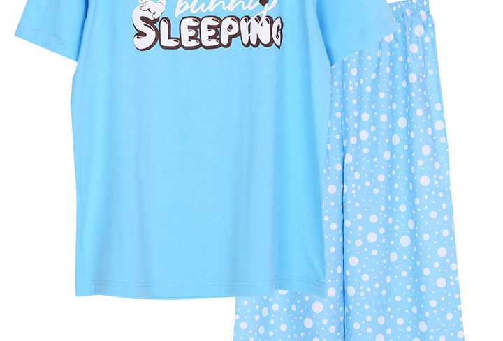 Josilins Bunny Sleeping_T-Shirt With Long Pants