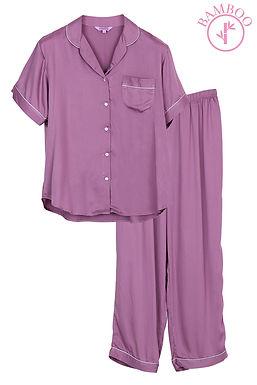 Josilins BamBoo _ Short Shirt With Long Pants