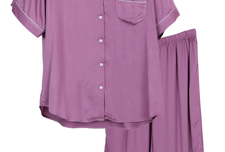 Josilins BamBoo _Short T-Shirt With Capri Pants