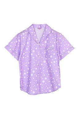 Josilins Nighty Dot _Short T-Shirt With Capri Pants