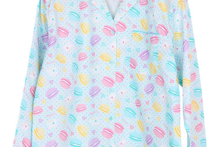 Josilins Sweetie Macarons _ Long Shirt With Long Pants